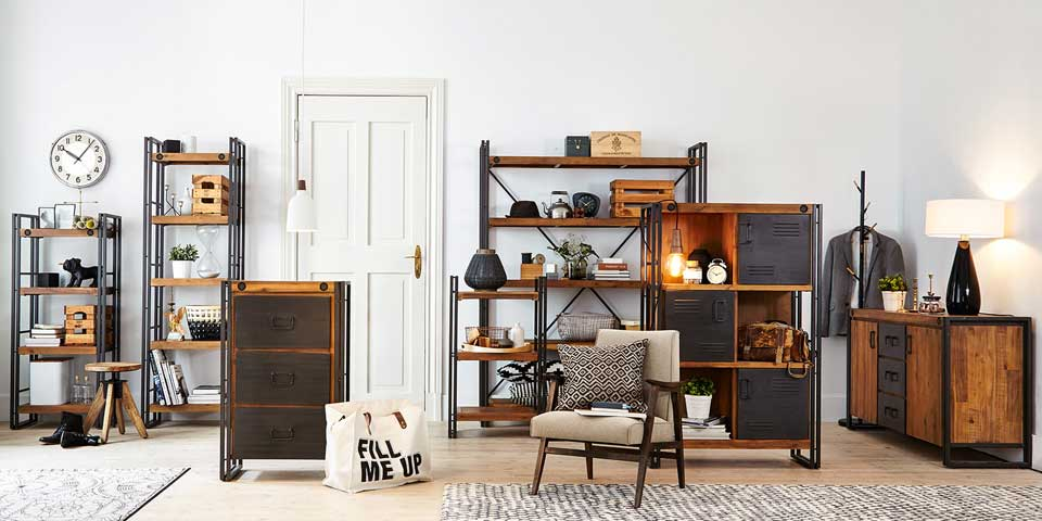 leben im urban loft style. Black Bedroom Furniture Sets. Home Design Ideas