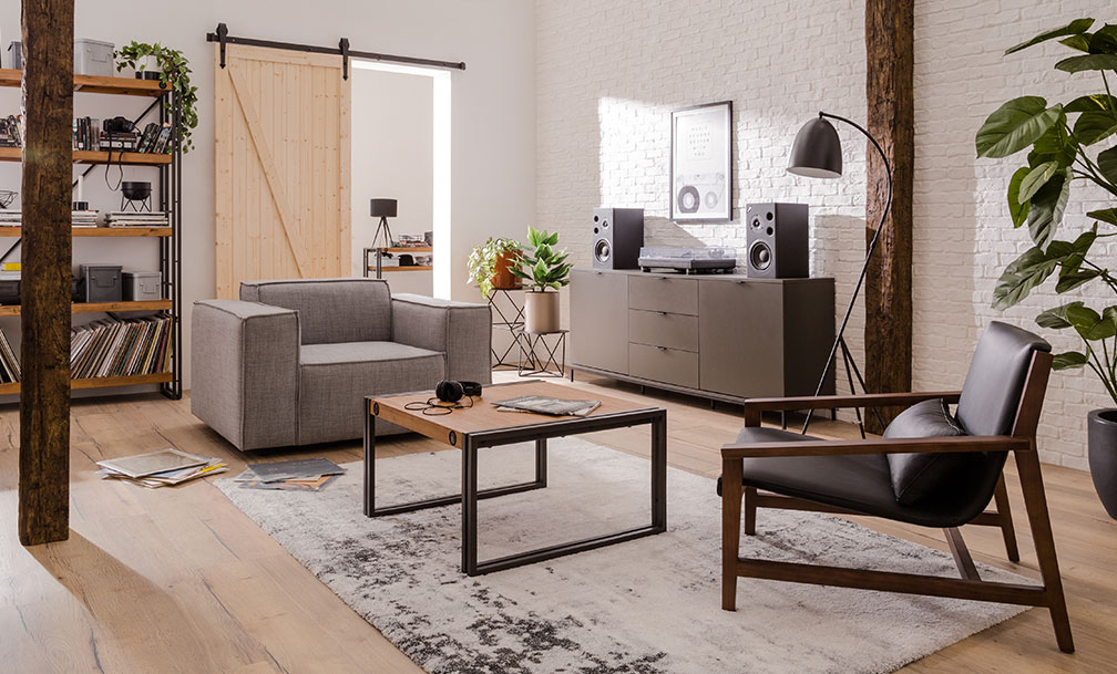 wohnzimmer industrial style. as cration holzoptik tapete woodn ... - Wohnzimmer Industrial Style