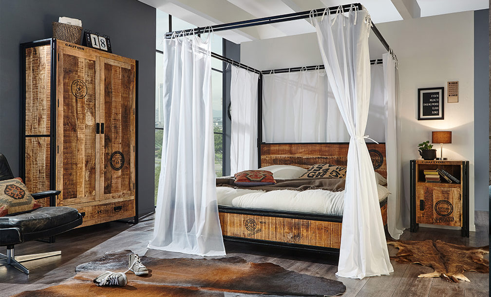 dein wohnstil industrial industrial m bel bei home24. Black Bedroom Furniture Sets. Home Design Ideas