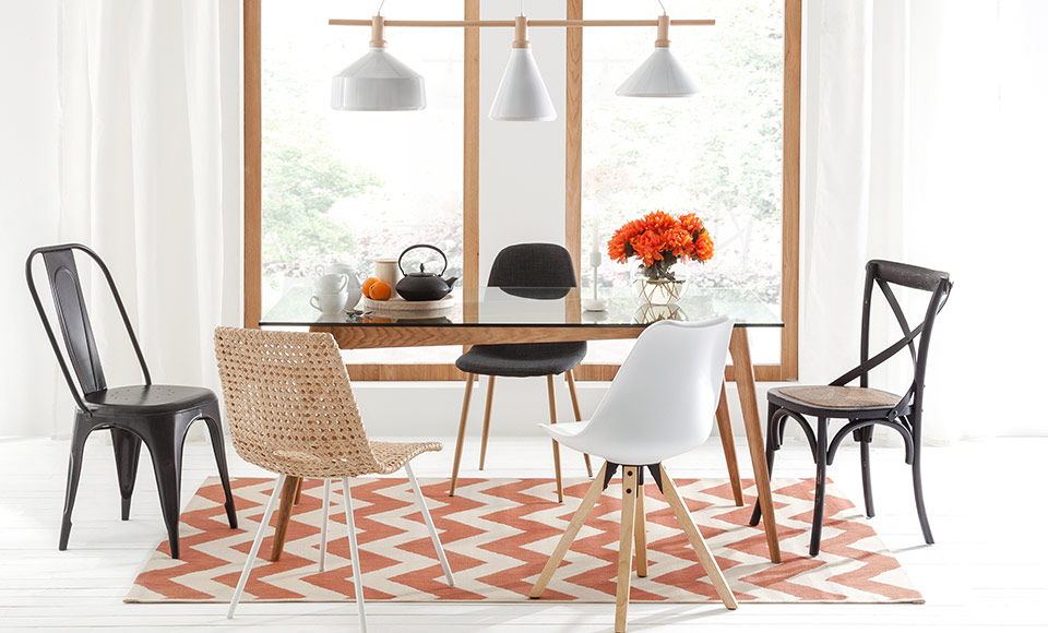 Patchwork Dining Stuhl Mix