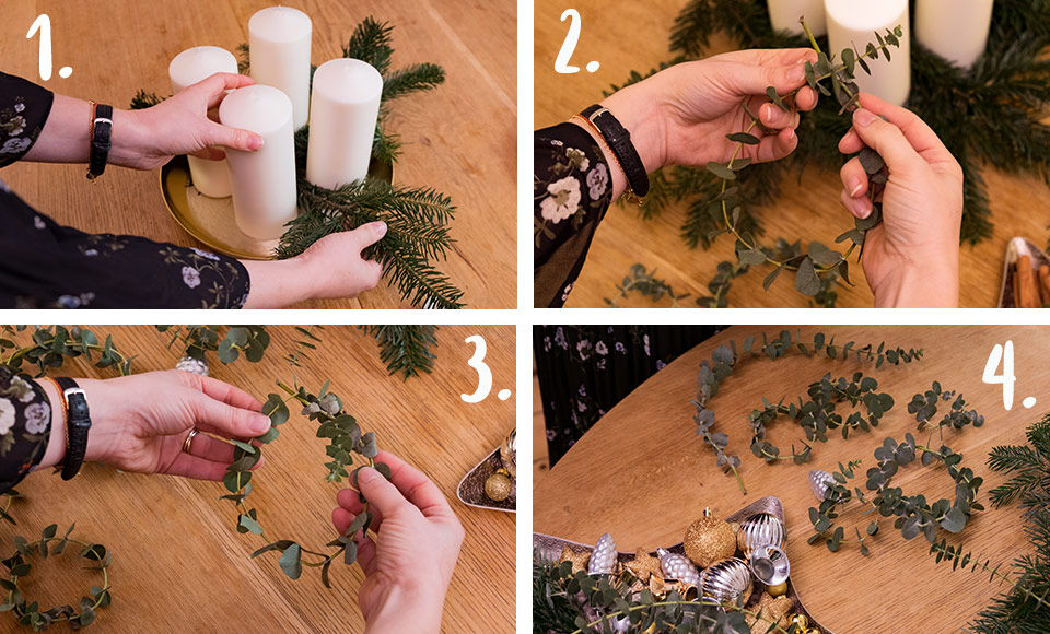 Adventskranz-DIY: Los gehts!